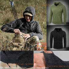 Men's Outdoor Jacket Military Tactical Coats Cardigan Sweaters Pullovers Hoodie