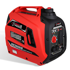 RED-E POWER RE2000iS Whisper Quiet 2000-Watt Portable Inverter Generator