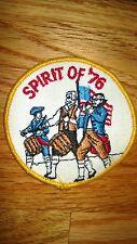 "Vintage""SPIRIT OF '76"" Heraldic,Coat of Arms Etc.Patch"