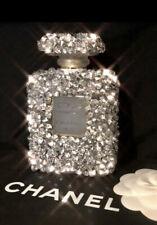 Crushed Diamond Crystal Perfume Bottle Ornament Shelfee Home Decor Large 200ml
