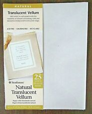 "STRATHMORE Natural Translucent Vellum 25 Sheets 8.5"" x 11""  28-913"
