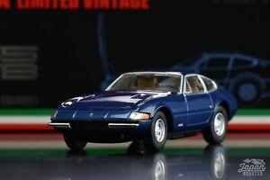 [TOMICA LIMITED VINTAGE NEO 1/64] Ferrari 365 GTB4 Late version (Navy)