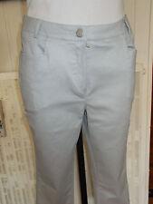 Pantalon court GOLF coton argenté strech NUNI mod. CHANDOR 38FR 6US 17VH48