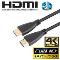 Audio HDMI Cable 4K Ultra HD 3D High Speed Gold Plated Cable 1m 2m 3m 5m 10m