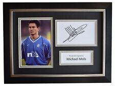 Michael Mols Signed A4 Framed Autograph Photo Display Rangers Football COA