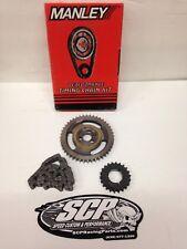 """Manley 73321 SBC .005"""" Short Billet Race Roller Timing Chain Kit W/ Torrington"""