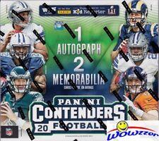 2016 Panini Contenders Football HUGE EX- Retail Box-(3) AUTOGRAPH/MEMORABILIA !