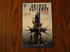 DC New 52 TPB Graphic Novel Batman/Superman: Cross World Vol. 1