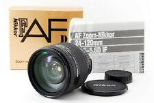 Nikon AF NIKKOR 24-120mm F/ 3.5-5.6 D IF Zoom Lens w/Box [Exc+++] JAPAN 633875