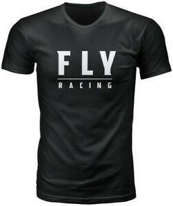 Fly Racing 2020 Logo Tee Adult Black T-Shirt All Sizes