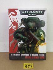 WARHAMMER 40K COLLECTOR'S regole regole Set 3 libri COVER RIGIDA 671