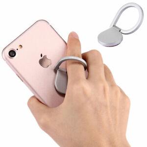 Handy Ring Halterung für Nokia C2-06 Touch and Type LG P700 Optimus L7 silber