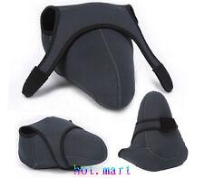 Neoprene Soft Camera Case Bag For Nikon D750 D610 D810 D5400 D300 18-55mm Lens
