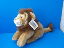 "Animal Alley Lion Stuffed Animal 10"" Plush Lovey Toys R Us WITH TAGS!"