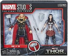 """Marvel Legends 6"""" THOR 2 PACK SIF MCU 10TH ANNIVERSARY IN STOCK"""