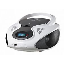 Tragbarer CD MP3 Player Tragbares Radio Boombox Kinder Musikanlage USB AUX IN