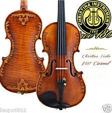 Christina v07Handmade carved spruce.Maple 4/4 Violin professional Violin senior