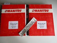 Manitou Forklift Mlt735 120 Lsu Series 4-E3 Parts Manual Manuals