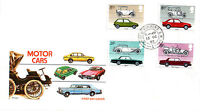 13 OCTOBER 1982 BRITISH MOTOR CARS PHILART FIRST DAY COVER HOUSE OF COMMONS SW1