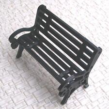 12 pcs G scale 1:24 Park Benches / platform settee #CB