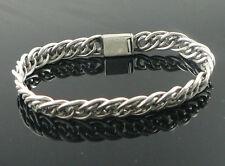 925 sterling silver bracelet 25grams,925 brand pulsera armband bracciale PVP120E