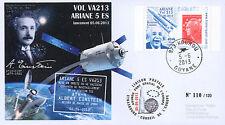"""VA213L-T1 FDC KOUROU """"ARIANE 5 Rocket - Flight 213 / ATV-4 Albert EINSTEIN"""" 2013"""