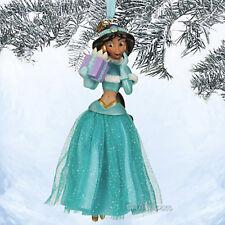 NEW 2013 Disney Store Princess JASMINE ALADDIN Sketchbook Christmas Ornament