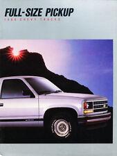 1988 Chevrolet Truck 40-page Original Sales Brochure Catalog - Silverado C2500