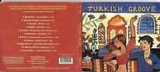 CD DIGIPACK 11 TITRES PUTUMAYO PRESENTS TURKISH GROOVE DE 2006 SERTAB/TARKAN