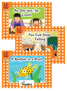 Early Years and Primary Decodable First Reader Books (Set 6)