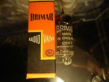 Brimar 12Bh7 With Black Anode Plates Nos British Tested Vintage Valve Tube