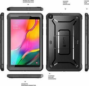 SUPCASE UBPro for Samsung Galaxy Tab A 8.0 Full-Body Case Cover+Screen Protector