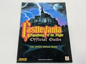 Castlevania - Symphony of the Night - Official Strategy Guide (BradyGames, PS1)