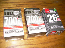 "Bell Lot 2 700c Presta Bicycle Inner Tubes  35-43mm and 1 26""  Road Hybrid Bike"