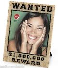 "Wanted Photo Picture Frame Wall Hanging or Stand 8"" x 10"" 20cm x 25cm Cowboy"
