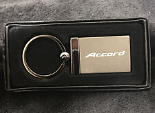 Black Rectangular Keychain - Officially Licensed for Honda Accord