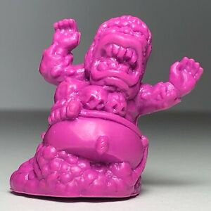 Monster In My Pocket - Series 1 - Baba Yaga - No.18 - Neon Purple Figure - Rare