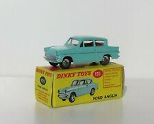 DINKY TOYS 155 // FORD ANGLIA + BOITE D ORIGINE // MECCANO ENGLAND LTD