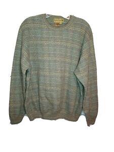 Vintage Tricots St.Raphael Sweater Men/'s Large Black Blue Beige Brown Knit Pullover Grandpa Boyfriend Shirt Acrylic USA Union Made Jumper