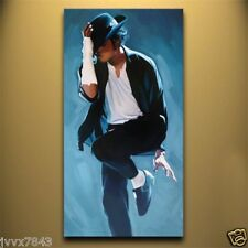 Hand painted oil painting wall art home decor MICHAEL JACKSON  No Frame 48
