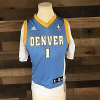Chauncey Billups Adidas Denver Nuggets Number 1 Youth Small Jersey