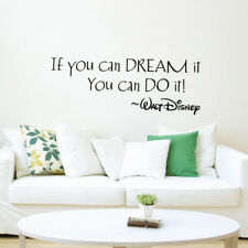 Inspiring Quotes Wall Sticker Art Home Decor Decal Mural Wall Stickers Kids Room