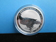 1 Oz  Australien Wedge Tailed Eagle 2016 Silber 999/1000 mit Kapsel !!