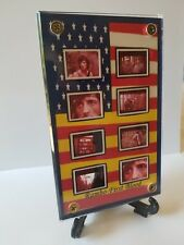 Rambo First Blood 8 Frame Movie Display with zipper pouch Vietnam War
