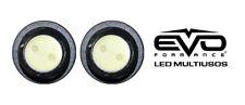 EVO Formance LED Projector Spot Lights 100% Waterproof, Blue for Car-Truck-Bike