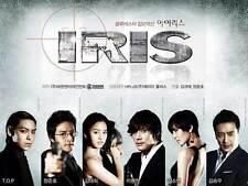 IRIS: THE MOVIE Movie POSTER 11x17 Korean D Byung-hun Lee Tae-hee Kim So-yeon