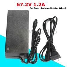 67.2V 1.2A AC Power Adapter Battery Charger For Smart Balance Scooter Wheel New