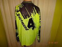 "Borussia Dortmund Nike Langarm Trikot 93/94 ""Die Continentale"" + Nr.4 Gr.XL- XXL"