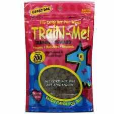 Crazy Dog Training Treat Mini Bacon 4oz 4 Oz 89104 012104891040