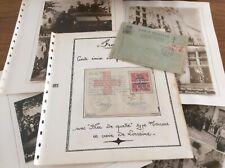 Lot timbres France , lettres libération, résistance/occupation.